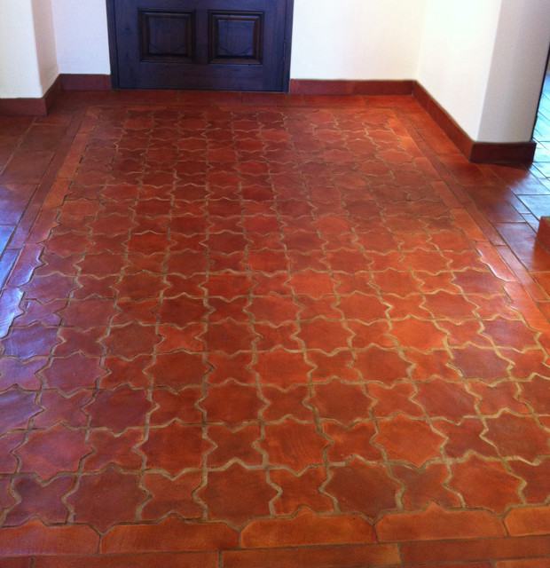 Interiors Floors Mediterranean Hall Orange County