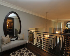 Iron Work, hand forged custom Iron for Luxury Home in So. Cal contemporary-hall