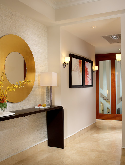 J Design Group Interior Designers Miami   Bal Harbour Contemporary Hallway  And Landing