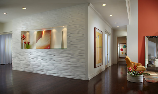 Contemporary Hall Miami J Design Group South Miami - Pinecrest - Home Interior Design - Decorators Miami contemporary-