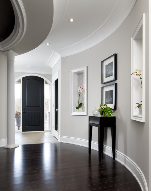Jane Lockhart Interior Design - Transitional - Hallway & Landing ...