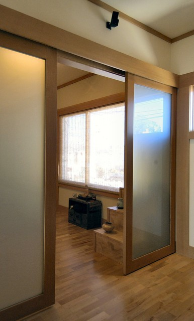 Japanese Inspired Remodel in Noe Valley-Hall asian-hall