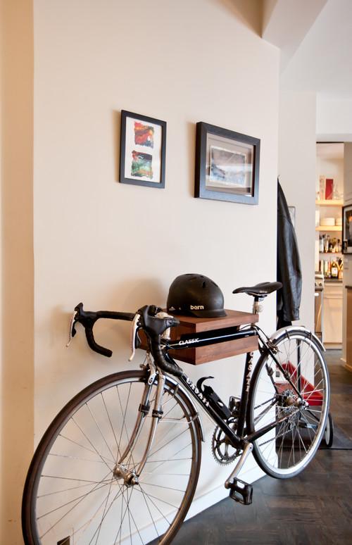 Gut gemocht Hereingeradelt! So verstaut man das Fahrrad in der Wohnung PO93