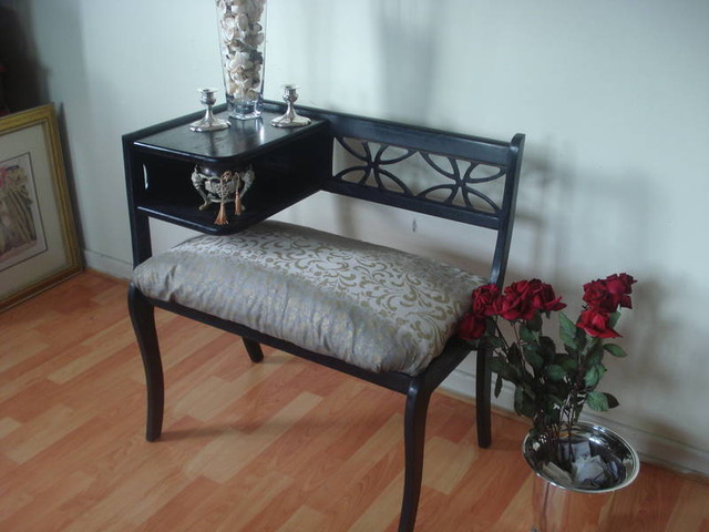 Kingston Shabby Chic Projects eclectic-hall