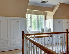 Kitchen and Bath in a Mt. Kisco Colonial traditional-hall