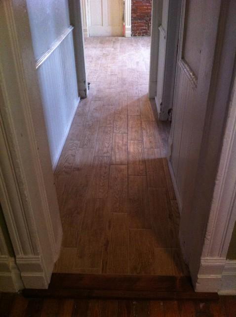Kitchen Floor Tile Wood Floor Style Old Home Remodel