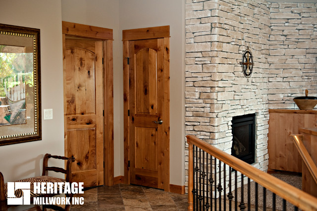 Knotty Alder Interior Doors Modern Hall