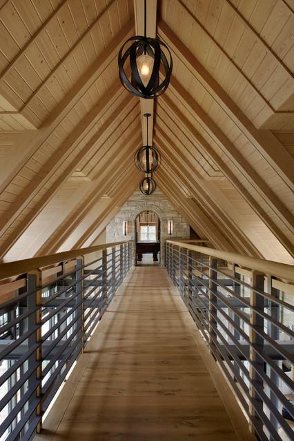 Lake House Retreat contemporary-hall