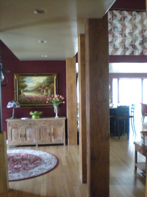 Lake View Retreat traditional-hall