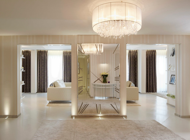 Lancelot Place, Knightsbridge contemporary-hall