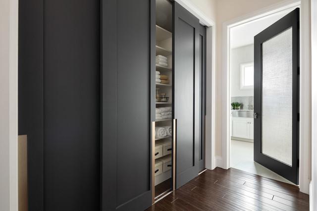 Las Vegas Modern Home Modern Solid Wood Glass Doors