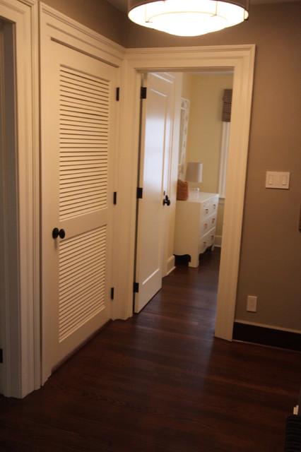Laundry Closet Hallway