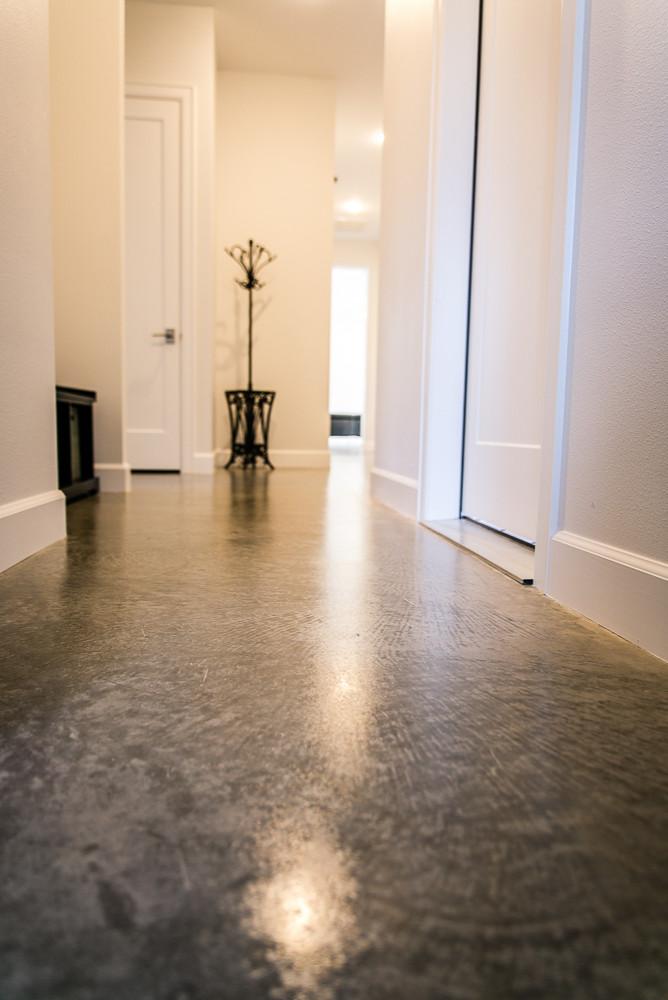 Light-filled Hallway