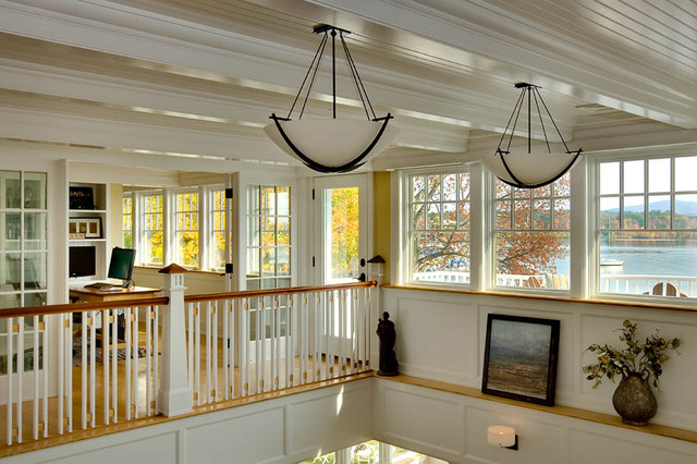 Lighthouse Cove Cottage Traditional Hall Boston By