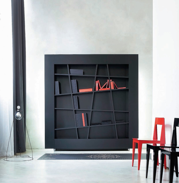 lines bookcase by ligne roset contemporary hall chicago by ligne roset chicago. Black Bedroom Furniture Sets. Home Design Ideas