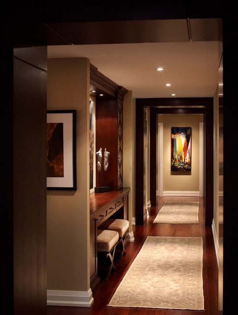 Living Spaces traditional-hall