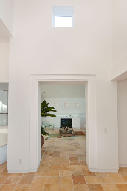 Living Spaces of the IHome modern-hall