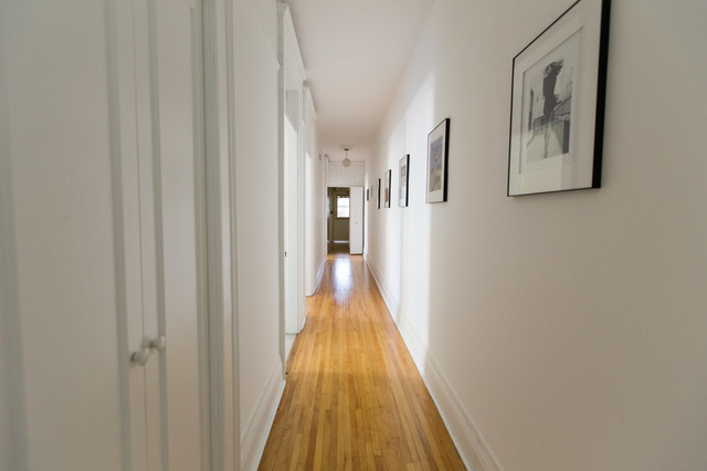 Long Hallway contemporary-hall