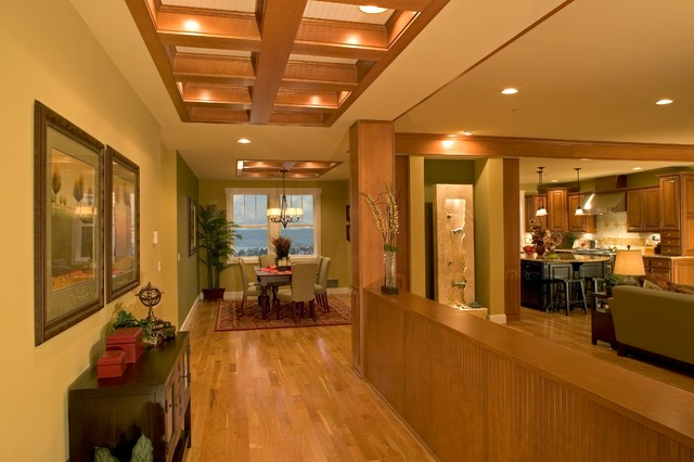 Madison Park Model Home traditional-hall