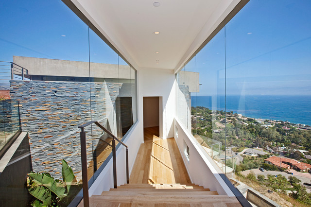 Malibu Home For Sale • 27312 Winding Way contemporary hall