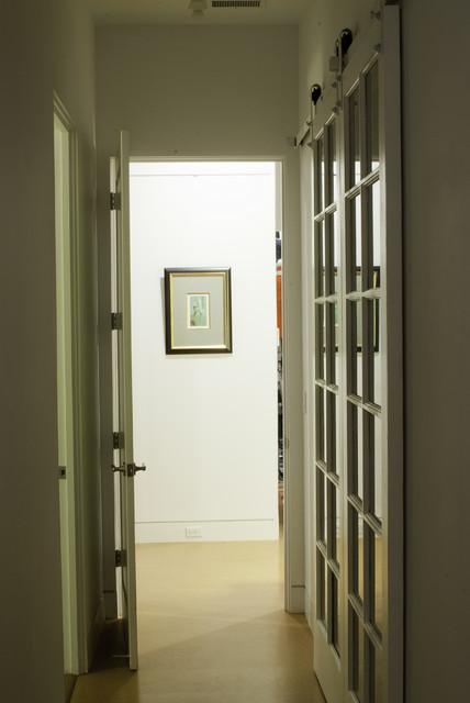 Manis Residence - Hallway contemporary-hall