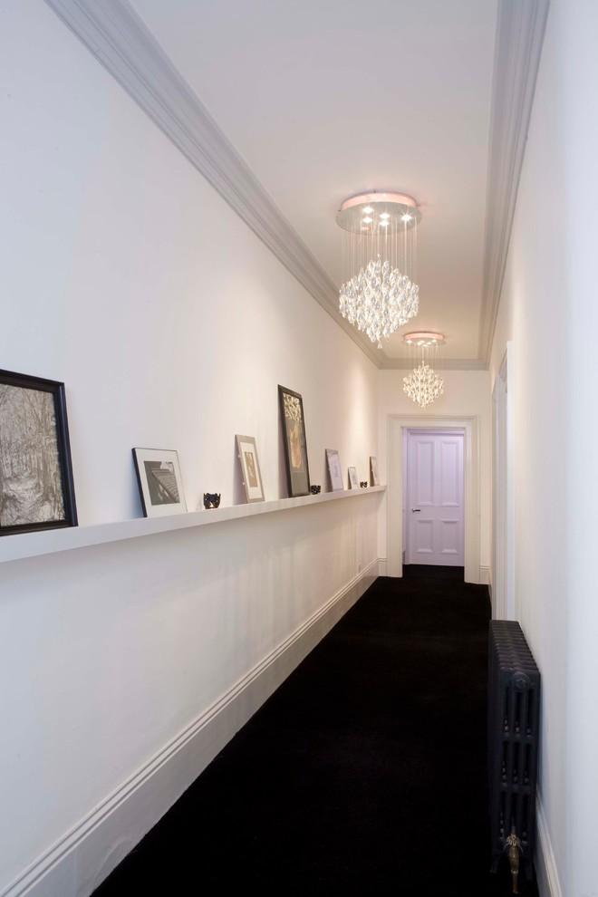 Idées déco pour un couloir moderne.