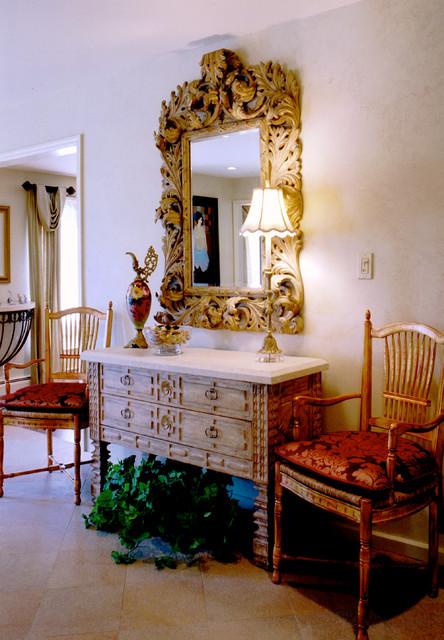 Marlboro house traditional-hall