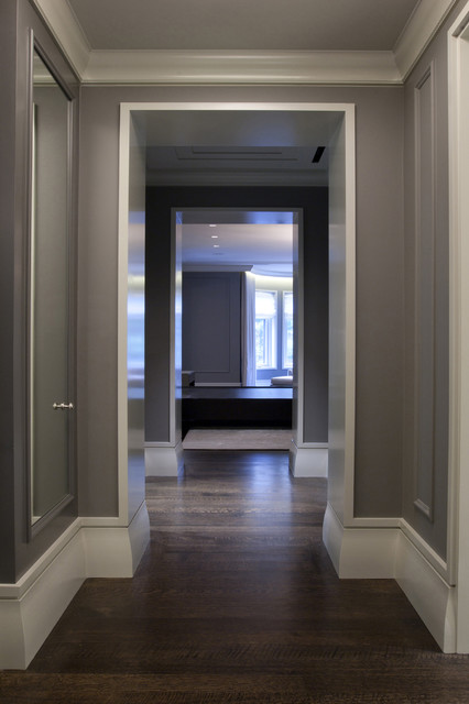 Master hall contemporain couloir chicago par for Couloir contemporain