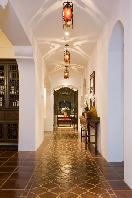 McKendree Residence, Pacific Palisades, CA mediterranean-hall