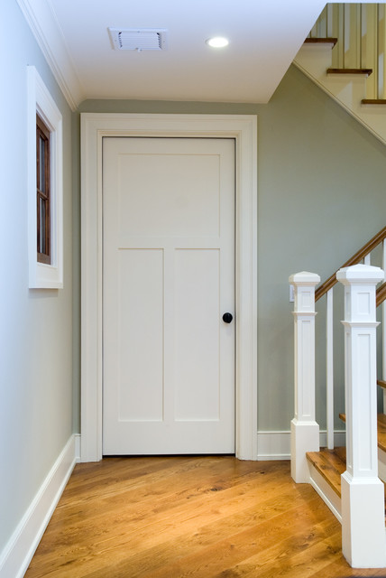 Mdf Interior Door 3300 Transitional Hall Orange County This Traditional Style 3 Panel Craftsman