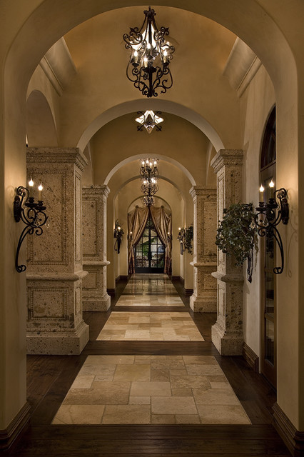Beautiful Mediterranean Hallways mediterranean hall
