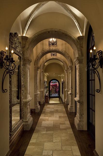 Beautiful Mediterranean Hallways mediterranean-hall