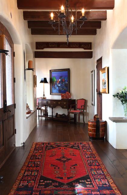 Santa Fe Residence mediterranean-hall