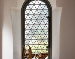 Cottage 52 Foyer & Stair Hall mediterranean-hall