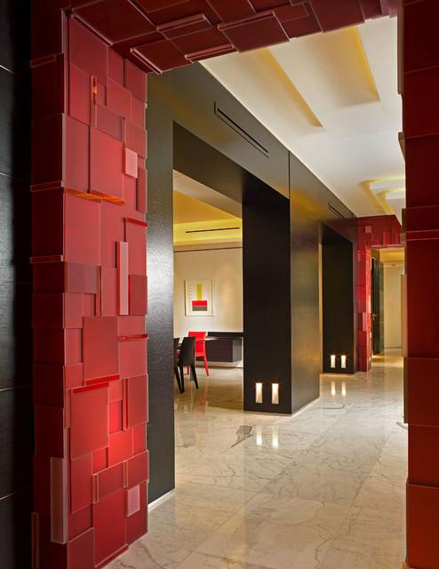 Miami Beach - Apartment by PepeCalderindesign - Miami interior designers  -Modern modern-hall