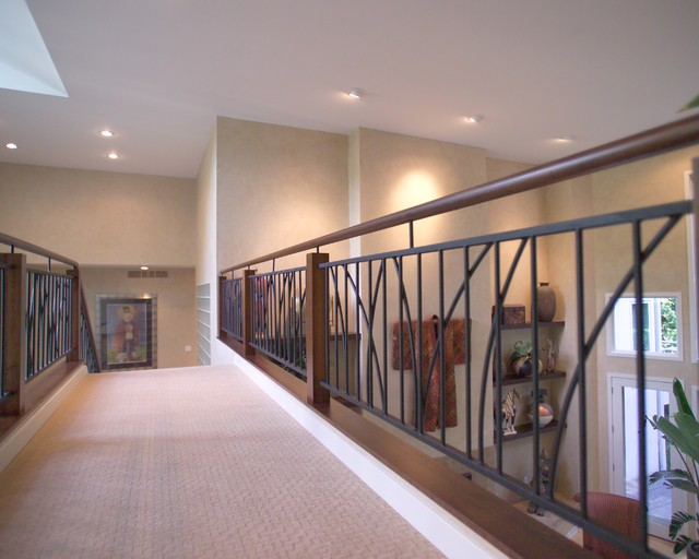 Minnetonka Modern Railing contemporary-hall