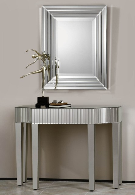 Mirrored Hallway Table