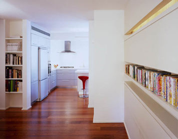 AXELROD ARCHITECTS modern-hall