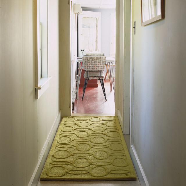 Foyer Runner Ideas : Modern hallway runner