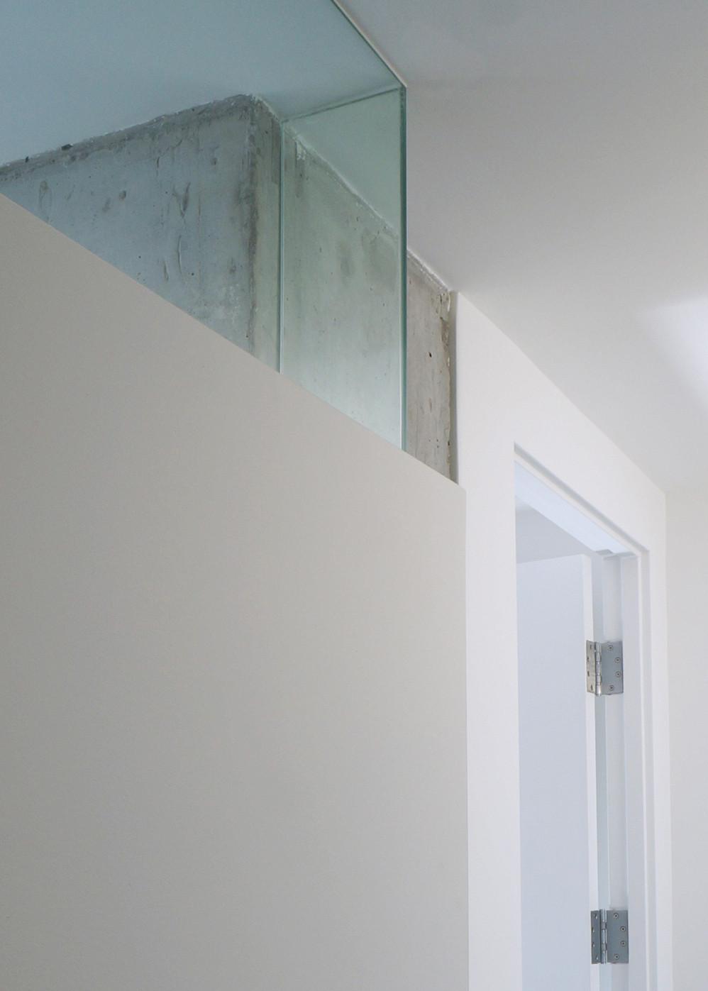 Modern New York Design   Hallway + Home Office DETAIL