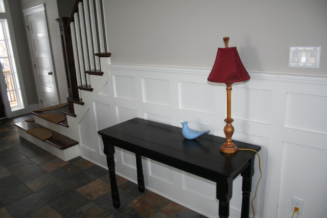 More Customized Molding / Moulding Ideas contemporary-hall
