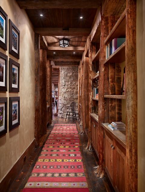 Mountain Retreat rustic-hall