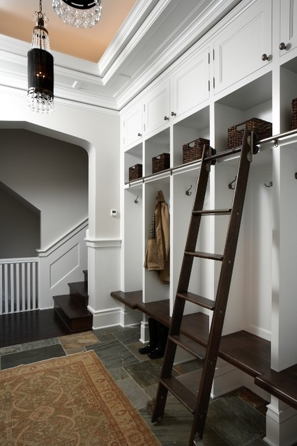 Mud Room traditional-hall