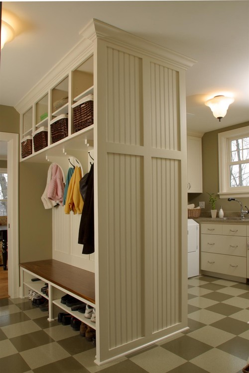 Mudroom  hall