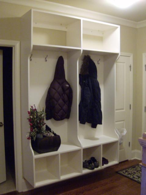 Hall Closet Storage