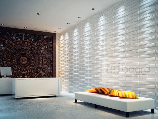 Wall Tiles Design For Hall Room : My designed works d board for wall decoration modern