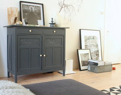 My Houzz: Eclectic Amsterdam Apartment eclectic-hall