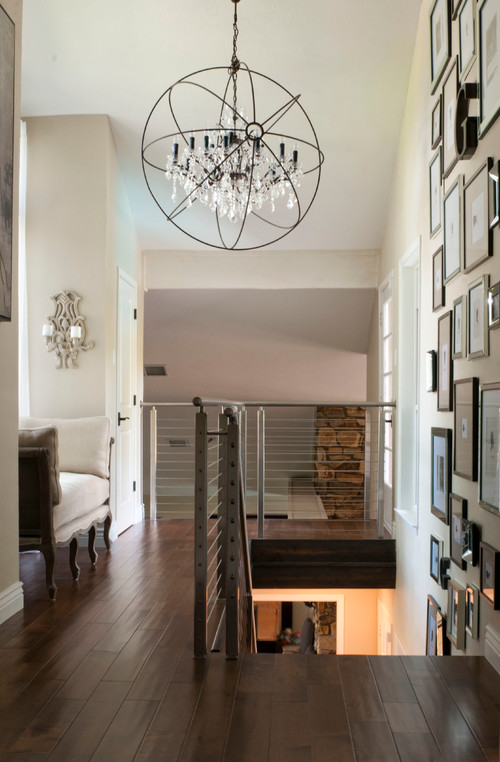 Foyer Lighting Contemporary Industrial Transitional Foyer Lighting