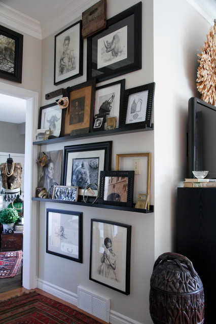 My Houzz: Meaghan and Trevor: Welland, ON - Eclectic - Hall - Toronto - by Esther Hershcovich