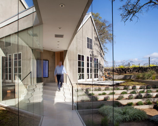 Glass breezeway home design ideas pictures remodel and decor